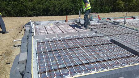 ground floor slab preperation project management